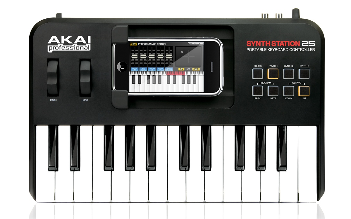 DRIVER UPDATE: AKAI SYNTHSTATION 25