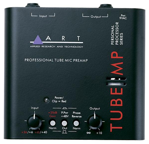 ART Tube MP Ламповый микрофонный предусилитель.