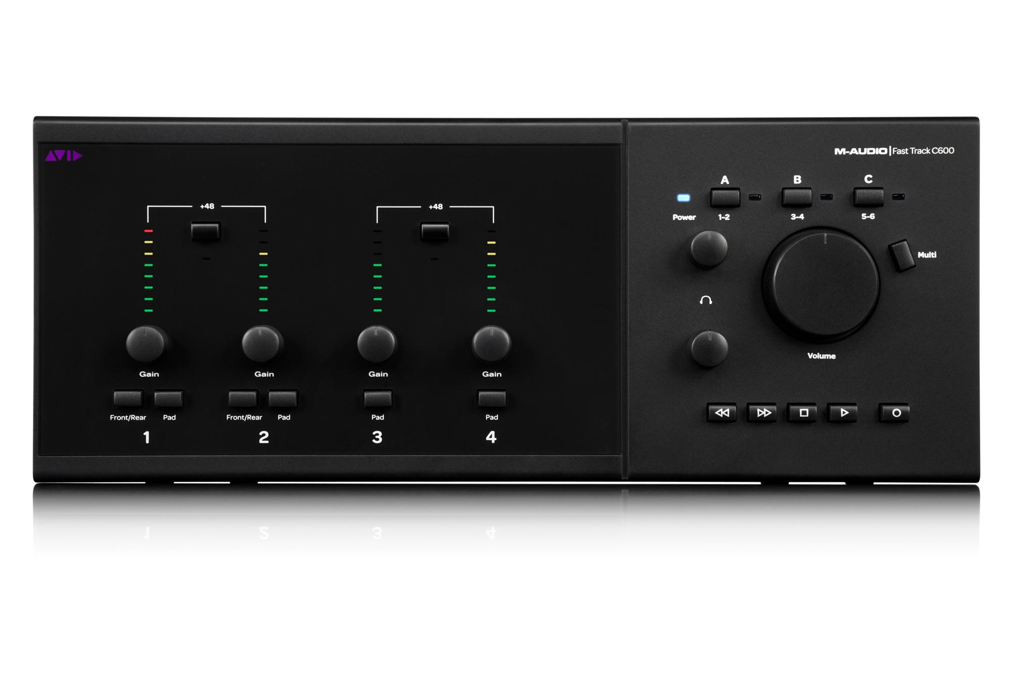M-Audio Fast Track C600 Vista