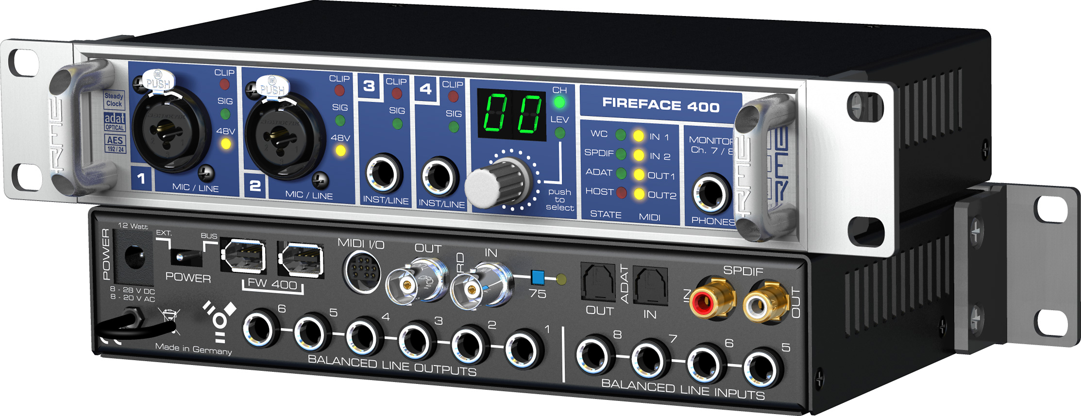 RME FIREFACE 400 DRIVERS FOR WINDOWS 8